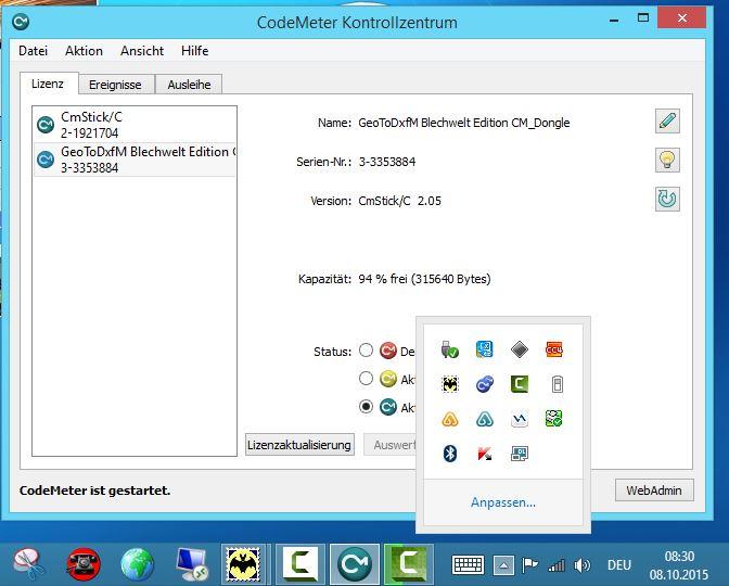 Wibu RaC-Datei erzeugen