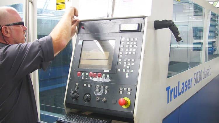 SSD Umbau bei Sinumerik 840 Steuerung