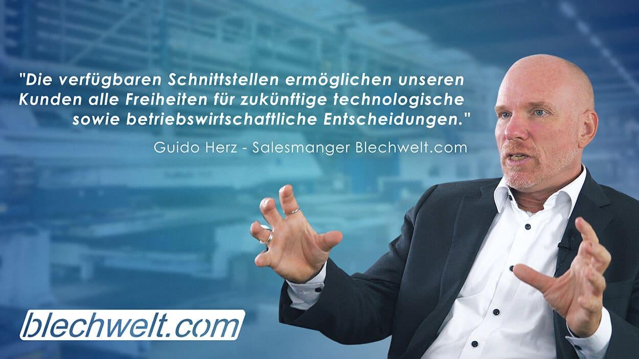 Guido Herz über die Integration von PN4000 bei TMS